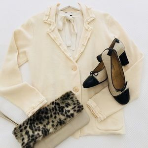 Beautiful ivory cardigan/jacket
